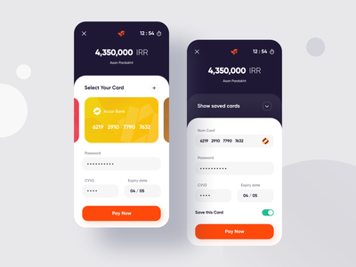 Asan Pardakht Gateway Redesign mastercard visa card visa wallets bank cards payment fintech wallet app gateway wallet minimal ux app ui flat design