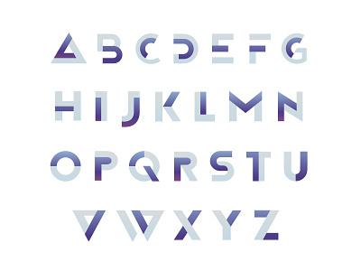 Insmart font insmart flat technology coding contrast programming hi-tech letters design combine it typography font