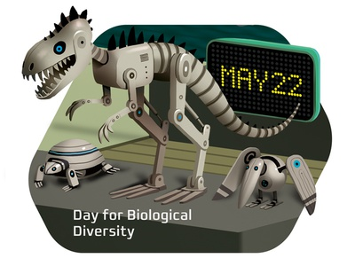 Robots \ May 22 - Day for Biological Diversity