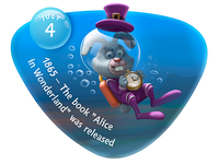 "Underwater\July4 - The book ""Alice in Wonderland"" was releaced"
