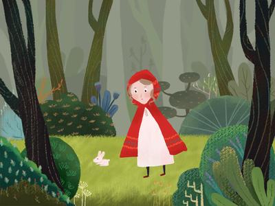 森林女孩儿