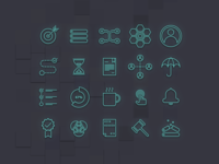 ECOMPLY marketing icon-set