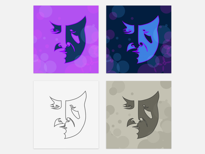 vector-base face illustration study illustration face svg vector