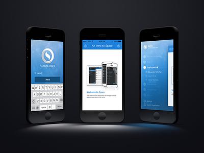 Sencha Space for iOS ios space sencha