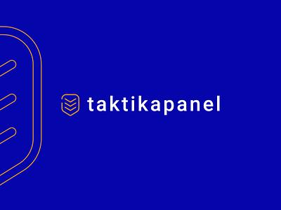 TaktikaPanel - Logotype logotype olwens clean white logo creative flat art 2d design