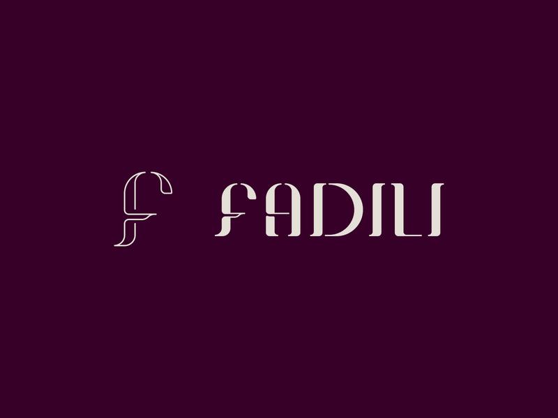 Fadili - Logotype rebranding vector typography illustration art clean logo branding 2d design