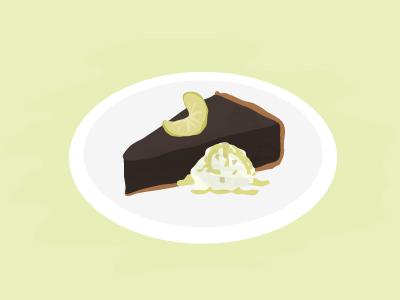 Chocolate Key Lime Pie <3 food dessert ice cream pie key lime chocolate