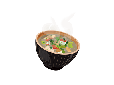 A lot of Soup food infographic vector illustration soup