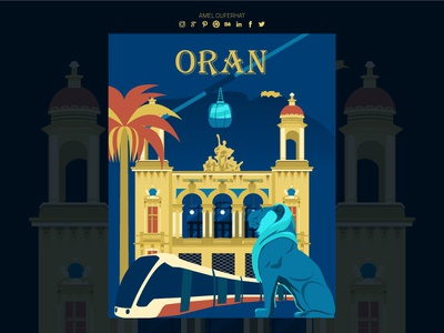 Poster Welcome To Oran