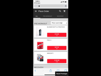 Mobile Shopping Cart, Coupons, and Promos