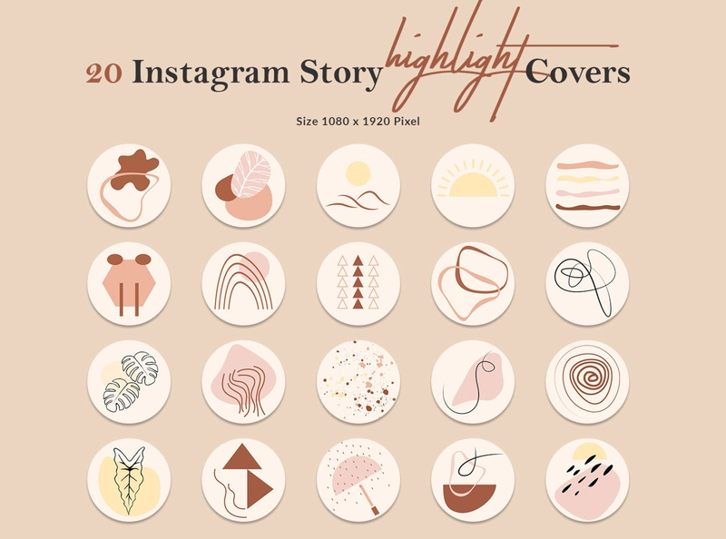 Instagram Story Highlight Covers Template creative elegant multipurpose professional instagram story icons instagram template highlight geometric instagram story covers instagram story cover boho instagram cover highlight covers social media kit story templates social media instagram covers instagram highlights