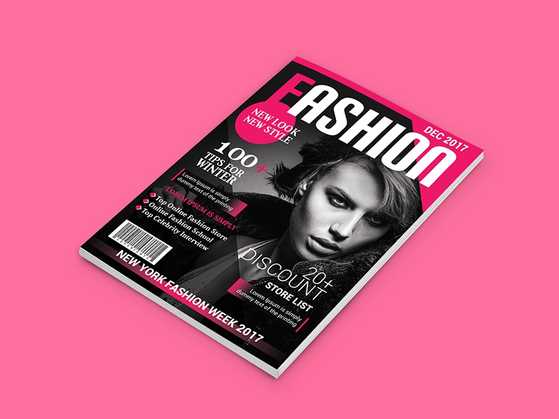 magazine cover design online