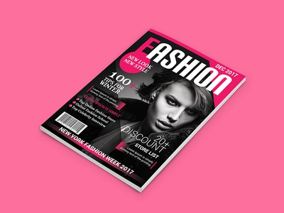 Fashion Magazine Cover Designs Themes Templates And Downloadable Graphic Elements On Dribbble