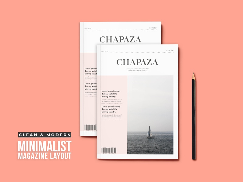 Magazine Cover Layout By Amit Debnath On Dribbble