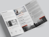 Corporate Trifold Minimalist Brochure