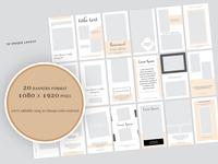 Social Media Pinterest Banner Pack