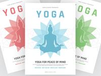 Yoga Flyer Design