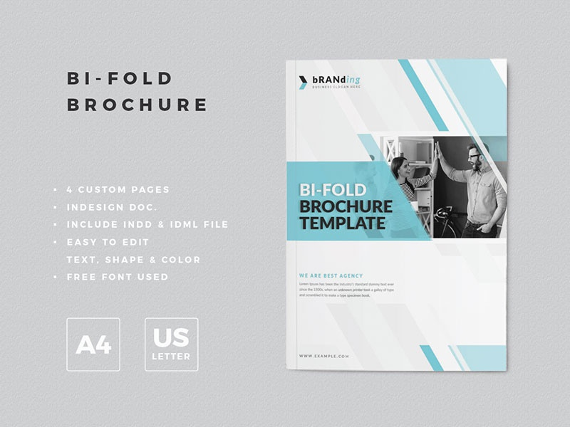 Bifold Brochure Design By Amit Debnath Dribbble Dribbble