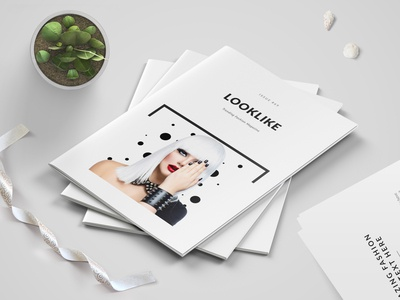 Minimal Fashion Magazine/Catalog Template