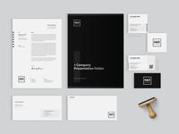 Minimal Corporate Identity Pack