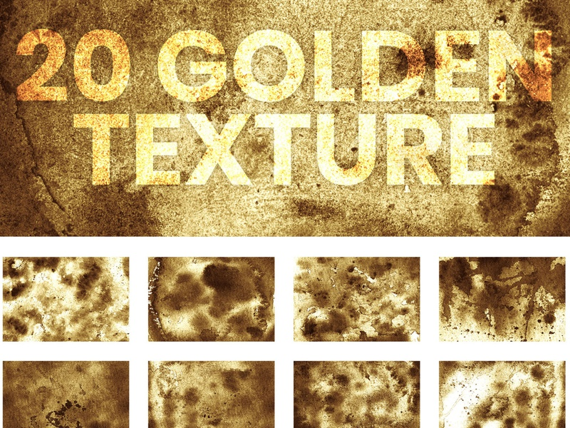 20 Golden Ink Texture Background acrylic material creative watercolour distressed watercolor background artistic decorative luxurious artwork golden set invitation card wedding background decoration golden ink digital paper illustration gold background golden texture