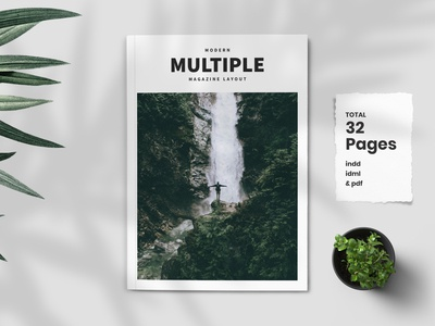 Modern Multiple Magazine Template