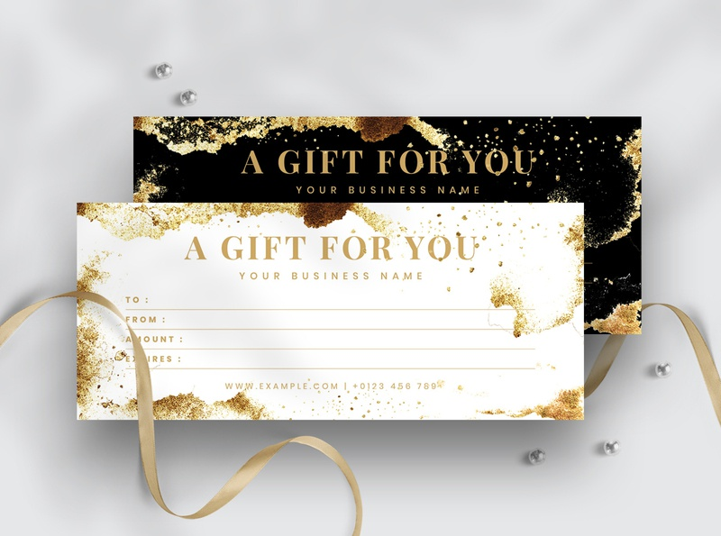 Modern & Minimal Gift Voucher Template gift layout sale discount mega offer holiday cards offer sale holiday offer gift template gift cards gift certificate gift voucher minimalist templates simple creative modern multipurpose professional clean minimal elegant