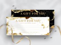 Modern & Minimal Gift Voucher Template