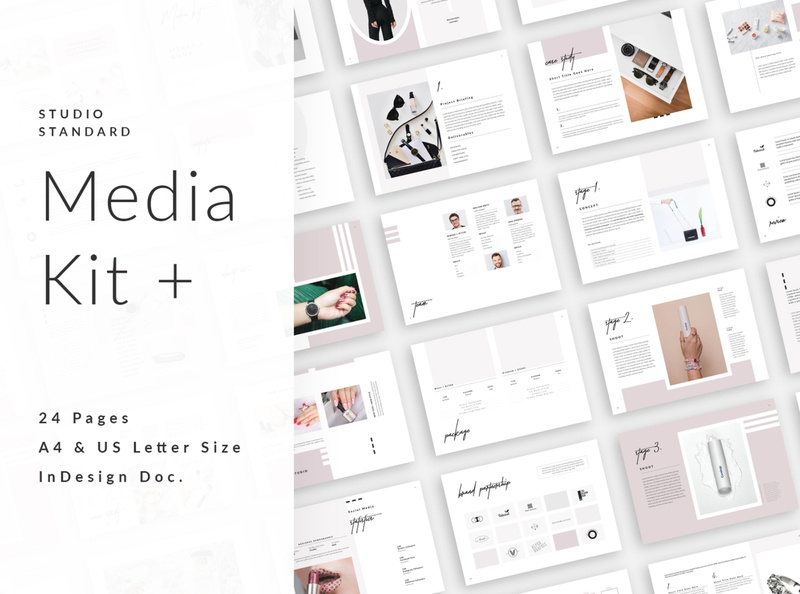 Media kit+ welcome guide pricing guide pricing pack service pack service guide statistics collaboration magazine instagram kit survice guide media kit template creative media kit blogger influencer presentation portfolio template entrepreneur proposal press kit media kit