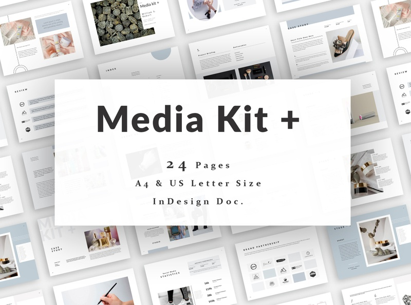 Media Kit Template welcome guide pricing guide pricing pack service pack service guide statistics collaboration magazine instagram kit survice guide media kit template creative media kit blogger influencer presentation portfolio template entrepreneur proposal press kit media kit