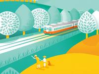 Me and Kominato railway