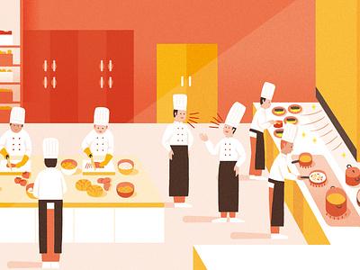 TokyoGas Pamphlet cooking illustration