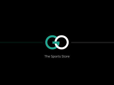 Logo for Go, The Sports Store icon identity illustration digital sports design branding vector typography logo