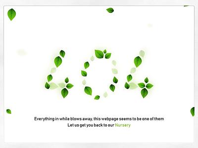 4 0 4   C O N C E P T S 404error user experience ux vector illustration webdesign web design leaves 404