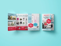 Gatefold Brochure for Office Depot