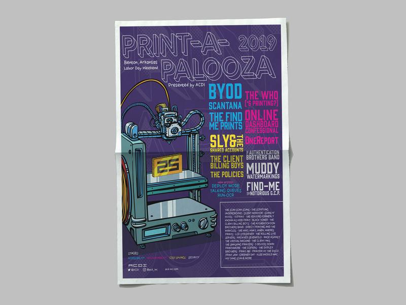 printapalooza festival poster design poster design layout flyer