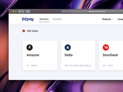 Meet Bouncy Boy payment crypto blockchain bitcoin web design hover cards branding animation
