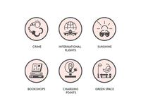 Monocle - Icons