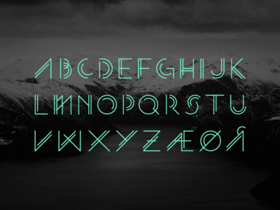 Njord Typeface