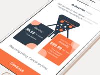 Caviar App - Subscription Plan