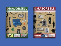 Majorsell Magazine Issue 3 Covers