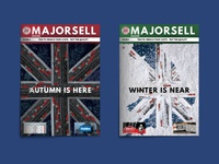 Majorsell Magazine Issue 4 Covers