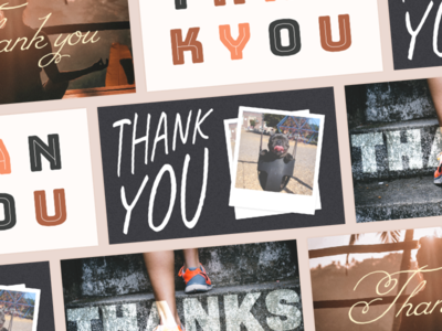 Quick little thank you notes experiments graphics cards thank you notes prefer