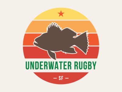 Giant Sea Bass giant sea bass water sports underwater san francisco rugby underwater rugby sfuwr