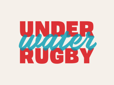 Underwater Rugby this is real water sports rugby underwater rugby