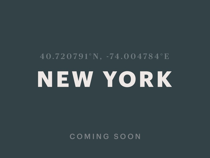 Coming soon to New York the big apple launching soon social post coming soon coordinates new york