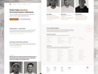 Marketing site for Prefer