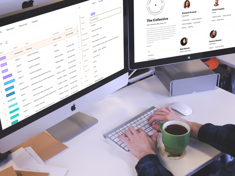 Job management portal operations tools management referrals soloists portfolios profiles tags edit data table admin prefer collective jobs