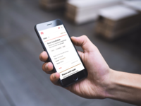 Scanning jobs on the go