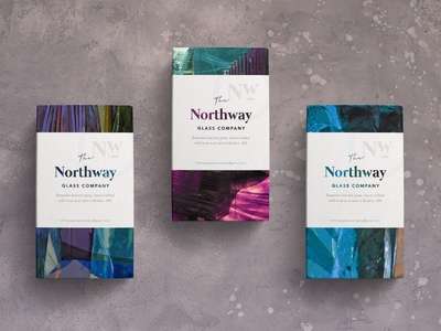 Boxes for The Northway Glass Company